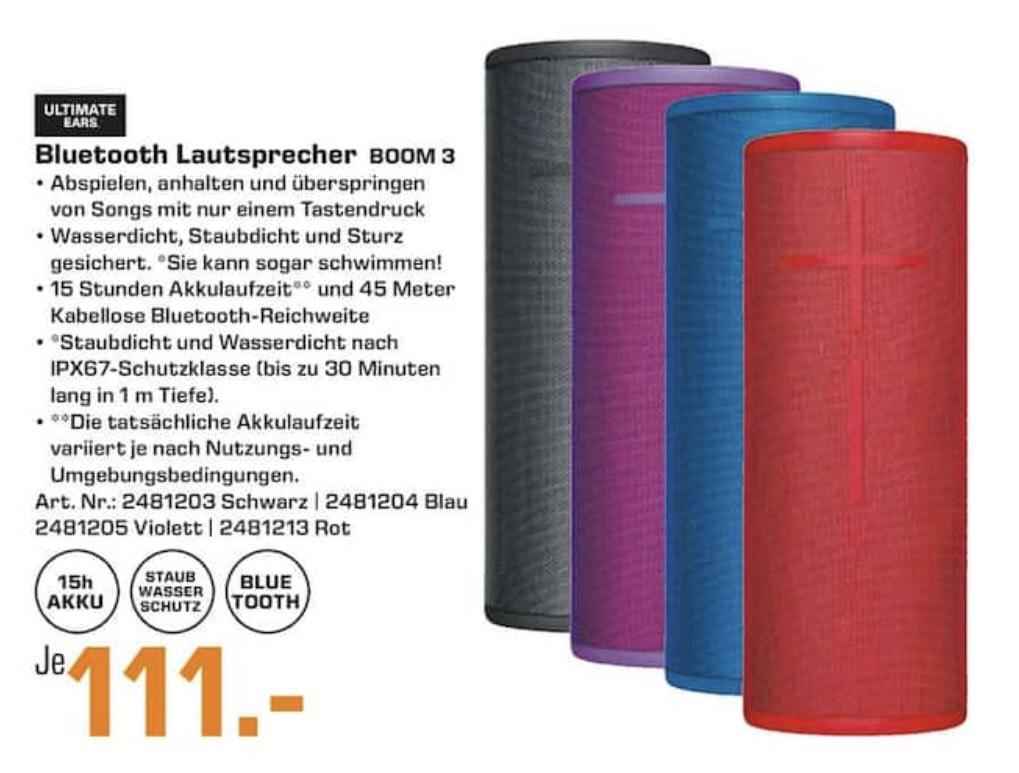[Saturn Erlangen] UE Boom 3 Bluetooth Lautsprecher