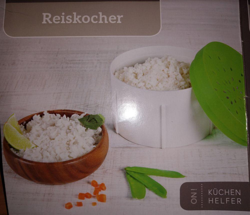(möglicherweise lokal Berlin-Reinickendorf) Mikrowellen-Reiskocher aus Silikon @ Penny