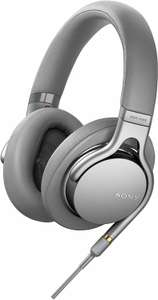 Sony MDR-1AM2 Over-Ear-Kopfhörer - Hi-Res, Beat Response Control, ultraleichtes Design, silber (Amazon.fr)