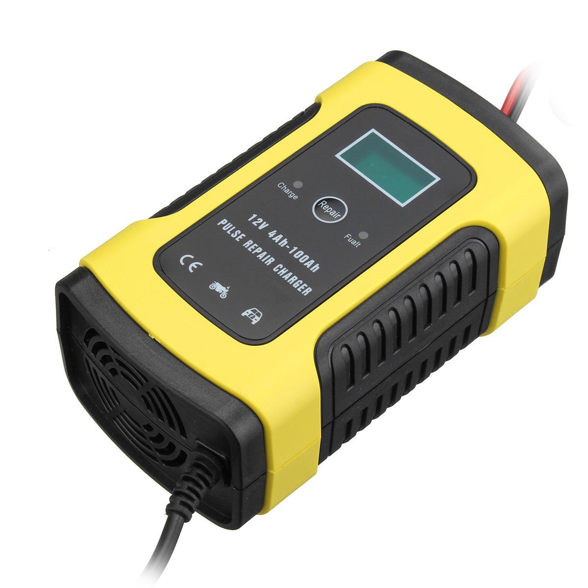 12V - Batterieladegerät (KFZ/Motorrad) mit Euro-Stecker + CE für unter 10€