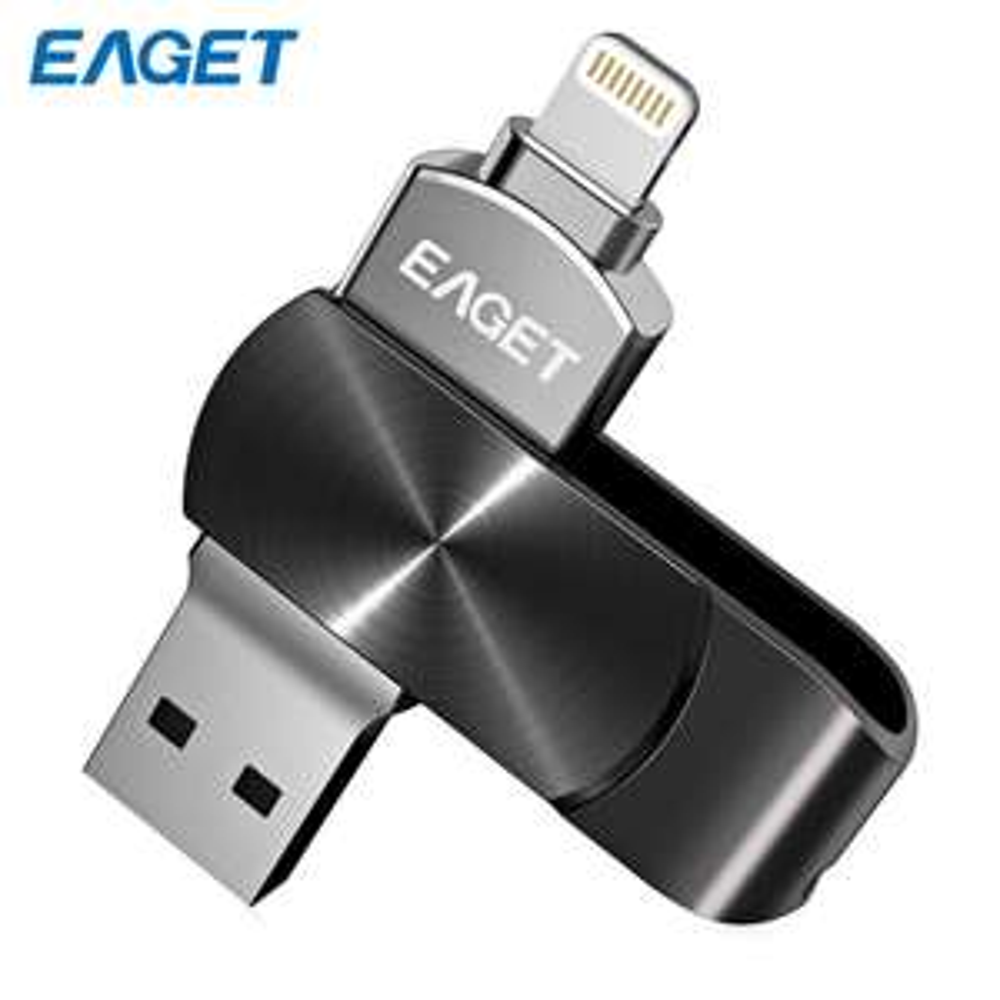 Eaget i66 128GB USB 3.0-Stick mit Lightning-Anschluss