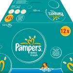 Für junge Eltern: Pampers Feuchttücher im Gigapack bei Amazon