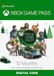 12 Monate Xbox Game Pass für 52,49€ (CDKeys)