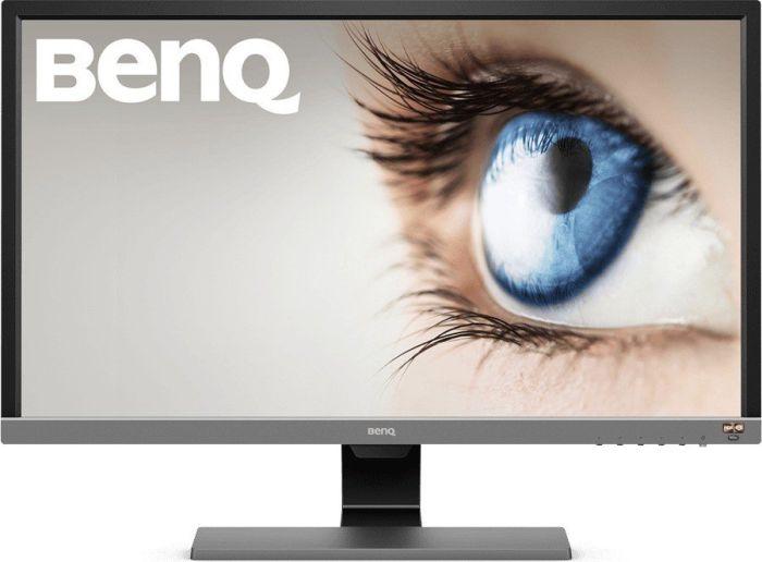 """BenQ EL2870U 28"""" 4K UHD Monitor (matt, TN-Panel, 300 cd/m², HDR10, AMD FreeSync, HDMI, DisplayPort, VESA)"""