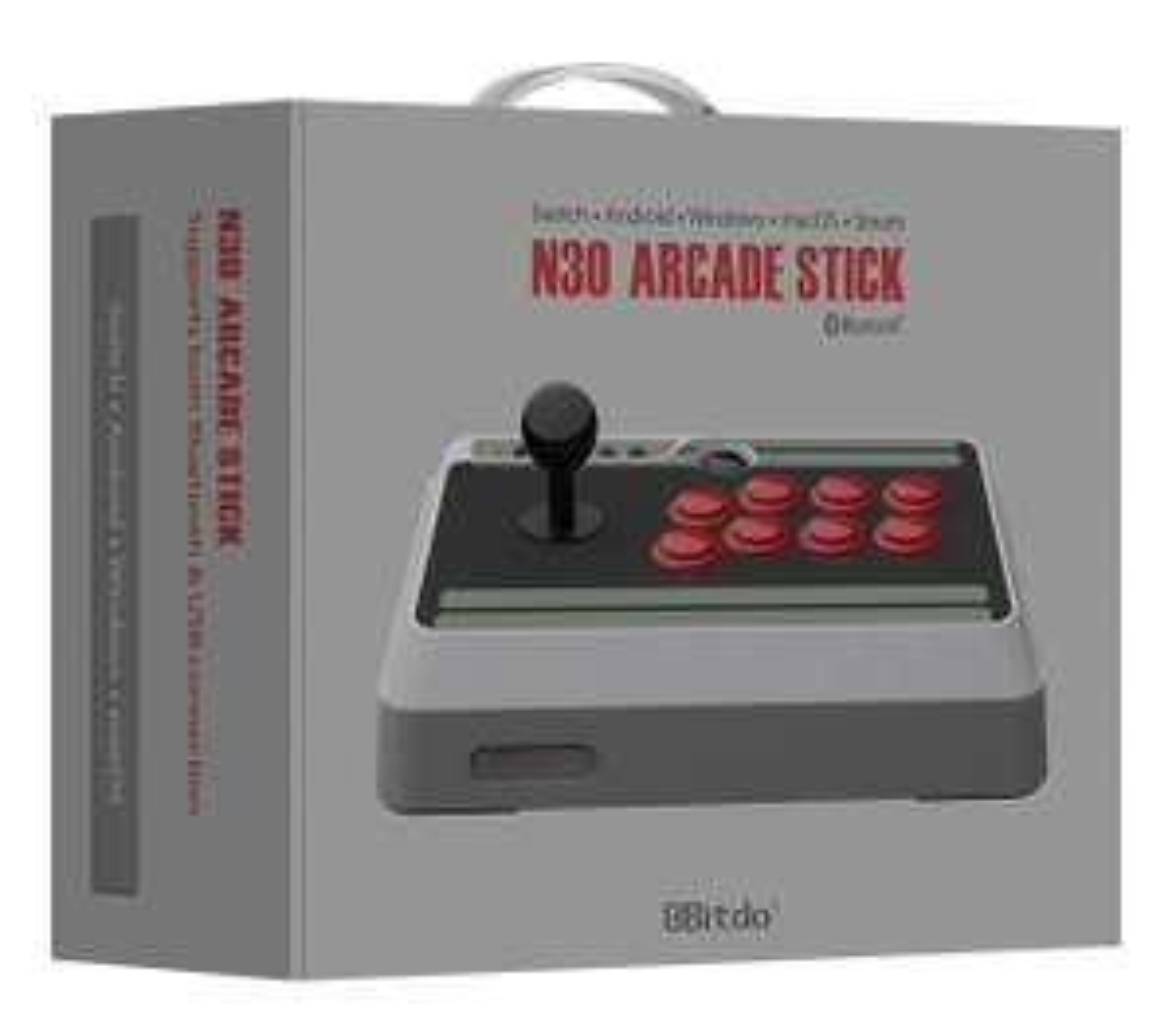 8bitdo NES30 Arcade Joystick (Windows/Android/Switch/Raspberry Pi/Steam) für 44,55€ (Amazon FR)