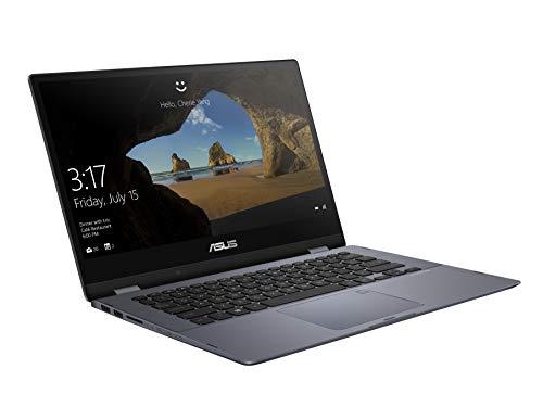 Asus VivoBook Flip 14 TP412UA 90NB0J71-M05090 35,5 cm 14 Zoll FHD Convertible Notebook mit Intel Pentium 4415U, 4GB RAM, 128GB SSD grau