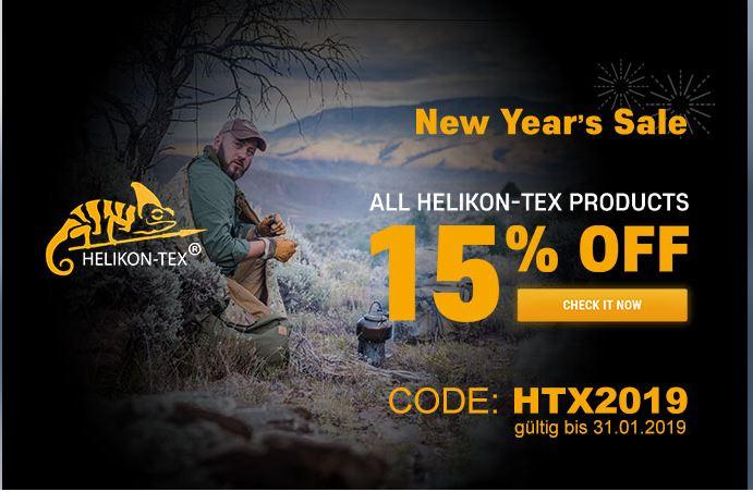 15% auf Helikon-Tex bei tacopsgear.de bis 31.01.