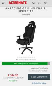 AKRacing Gaming Chair / Gaming Stuhl
