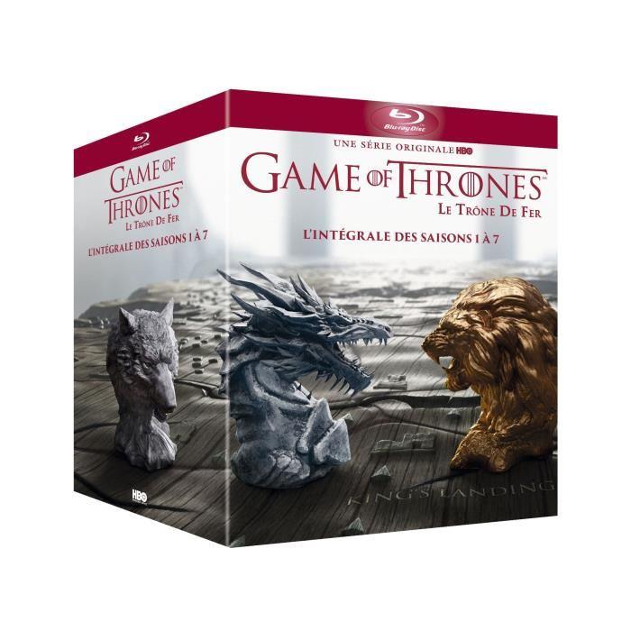 Game of Thrones Staffel 1-7 Blu-ray auf Englisch für 30,47€ aus Frankreich