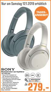 [Lokal: Saturn Mannheim am 12.01.] Sony WH-1000 XM3 Active Noise Cancellation Over-ear Bluetooth in 2 Farben