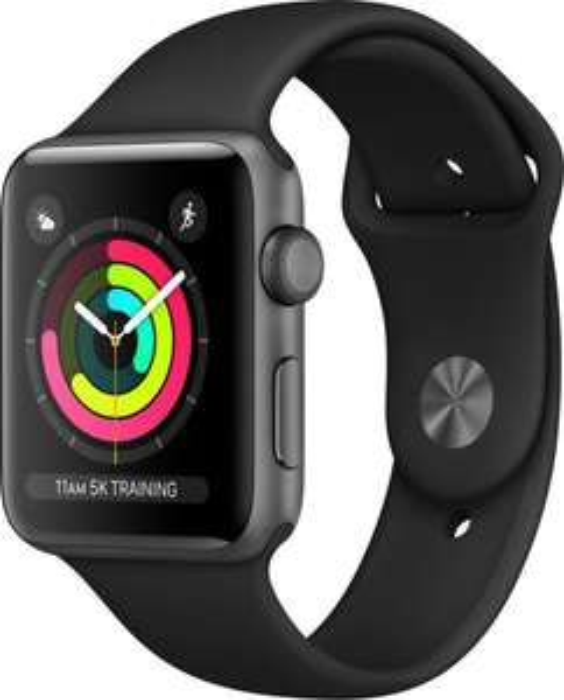 Apple Watch Series 3 42mm Aluminium Smartwatch B-Ware / Grau & Silber [eBay]