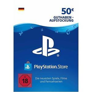 [medion-digital] Sony Playstation Network Card 50€ Euro (Playstation Network) für 42€