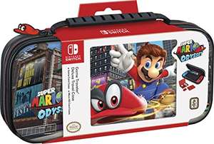 Nintendo Switch Travel Case Deluxe Super Mario Odyssey & Mario Kart 8 für je 14,99€ (Amazon Prime & Real)