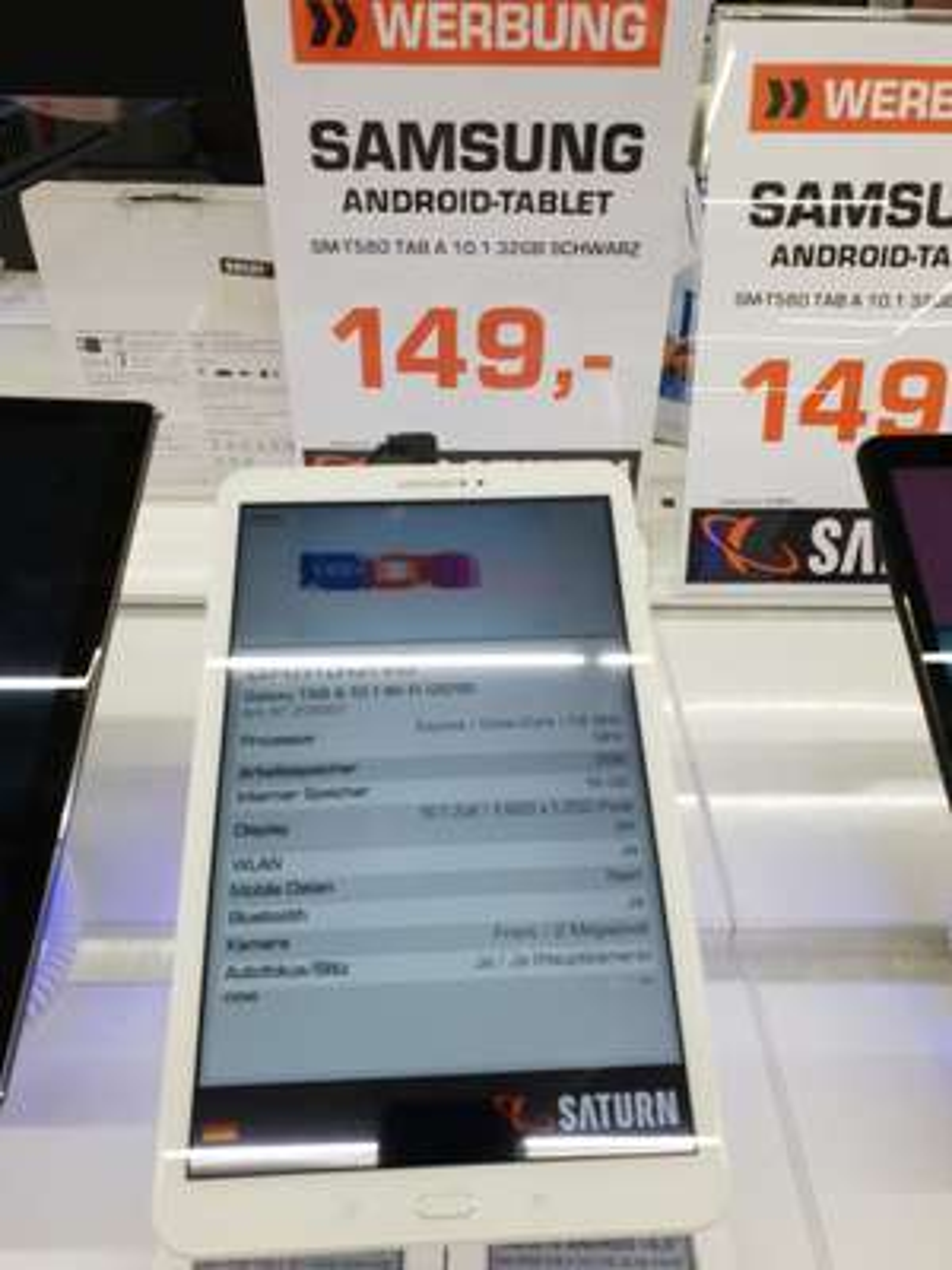 Samsung Galaxy TAB A 10.1 Wifi/ Lokal Saturn Braunschweig