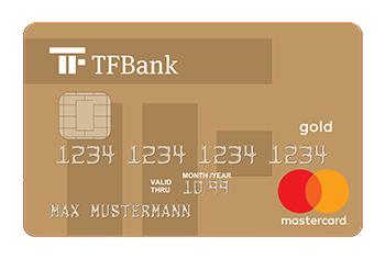 35€ Prämie + 25€ Cashback für dauerhaft kostenlose Mastercard Gold der TF Bank (SWE) via Shoop