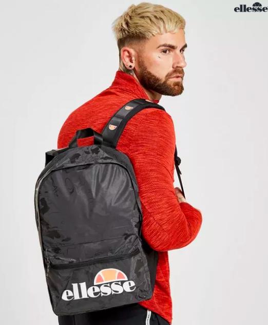 ellesse Rucksack für 15€ versandkostenfrei im JD Sports Sale