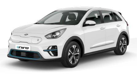 Kia e-Niro Edition 7 Elektro SUV mit 64kWh, 455km Reichweite WLTP, ca. 4-5 Monate Lieferzeit