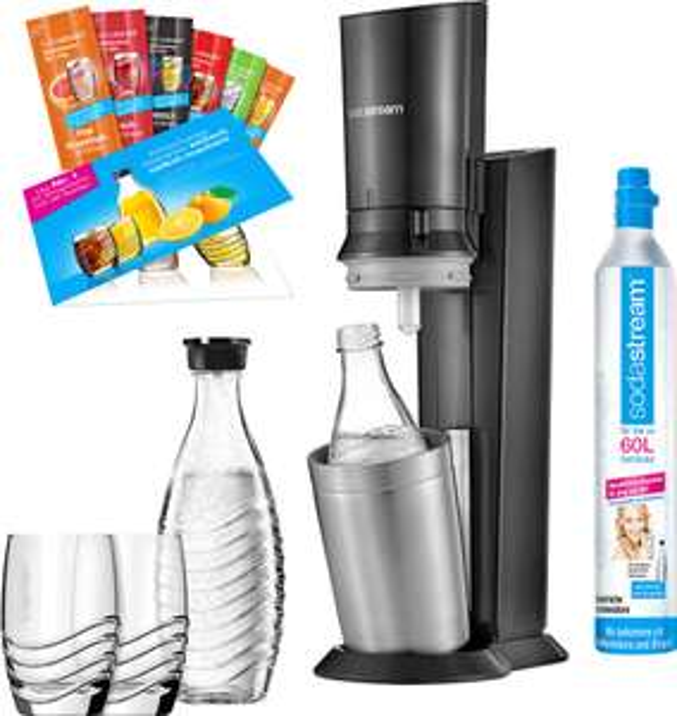[Kaufland]  SODASTREAM Trinkwassersprudler »Crystal 2.0 Promopack« (14.-16.1.2019)