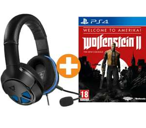 Turtle Beach Ear Force Recon 150 Headset + Wolfenstein 2: The New Colossus Welcome to Amerika! (PS4) für 54€ inkl. VSK nach DE (Saturn.at)