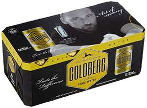 Goldberg Tonic Fridge Pack 3 x 8 Dosen a 150 ml Amazon Prime Pfandfehler