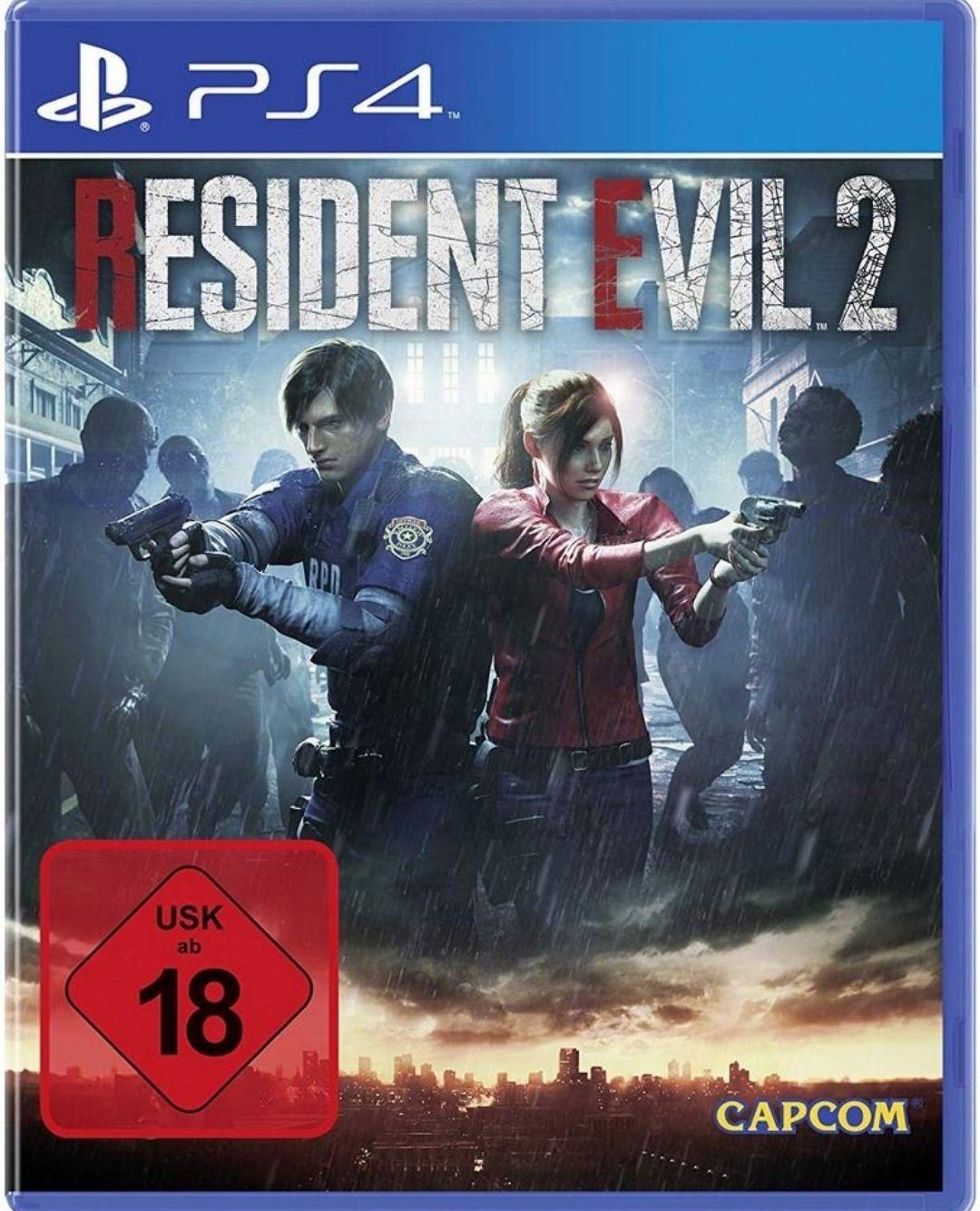[Check24 App] Resident Evil 2 (PS4 + Xbox One) (USK 18) für 40,90€ inkl.Versand