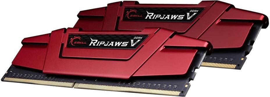 16GB G.Skill RipJaws V rot DDR4-3200 DIMM CL15-15-15-35 Dual Kit