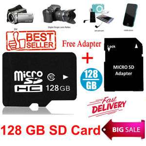 128GB Micro SD TF Flash Memory Card, Klasse 10