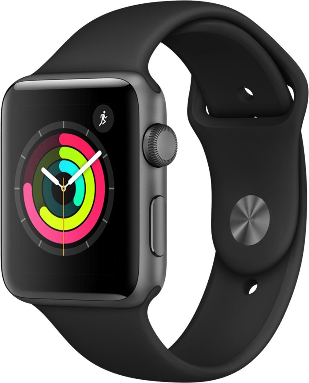 Apple Watch Series 3 42 mm GPS mit MacLife Abo für 287,90€