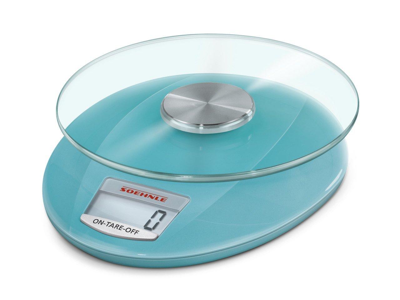 [mediamarkt] SOEHNLE 65859 Küchenwaage (Max. Tragkraft: 5 kg, Standwaage, 1-Gramm-Teilung)