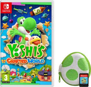 Yoshi's Crafted World (Switch)  + Yoshi Egg-shaped Cartridge Case  für 44,15€ (ShopTo)