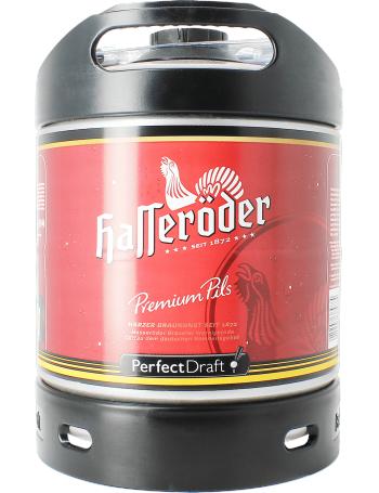 Hasseröder Premium Pils Perfect Draft 6L Fass