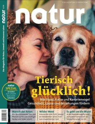 """Jahresabo """"Natur"""" für 72,35€ + 75€ Amazon Gutschein"""