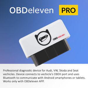 Diagnosegerät OBDeleven OBD11 PRO für OBD2 Fehlerdiagnose Diagnose Bluetooth PKW KFZ VAG VW AUDI SEAT SKODA Codieren [EBAY]