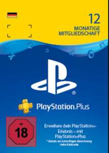 PS + / Playstation Plus ABO 12 Monte / 365 Tage