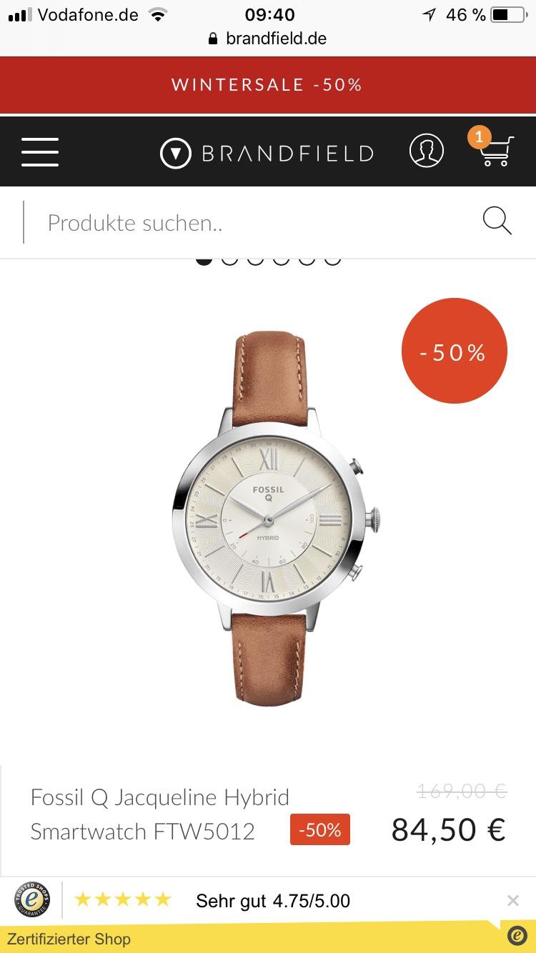 Fossil Q Jacqueline Hybrid Smartwatch FTW5012