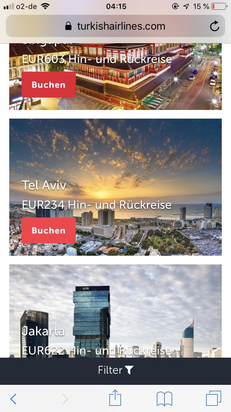 Flüge nach TEL Aviv mit Thy bzw. Airfrance für 186-260€ (Januar-März)