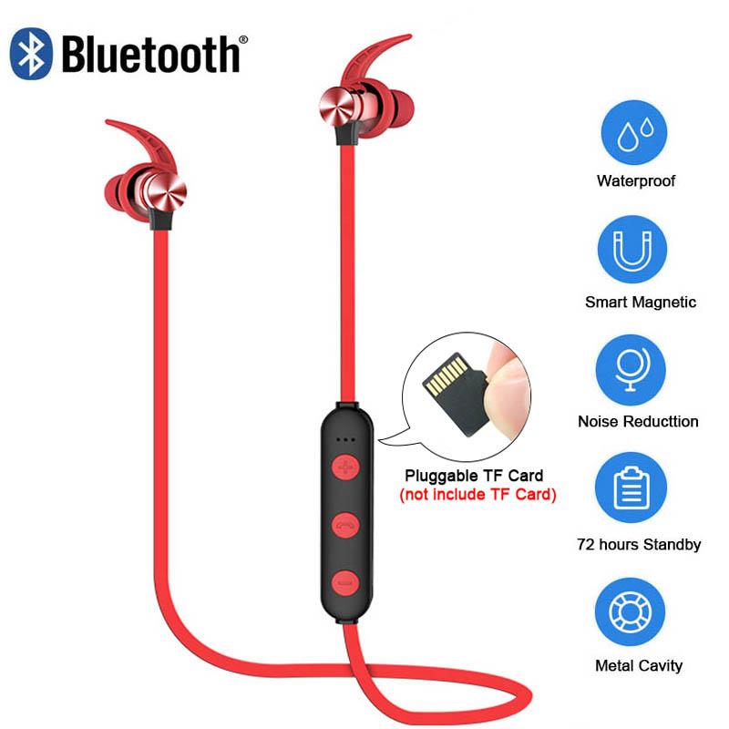 xt22 sport wireless bluetooth kopfh rer magnetische. Black Bedroom Furniture Sets. Home Design Ideas