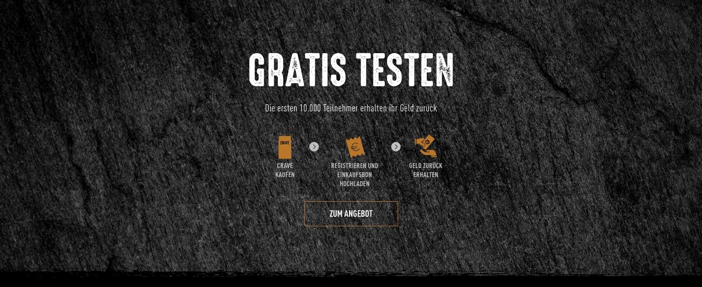 [GZG] Bis 10.000 Tester für Crave Hunde/Katzenfutter gesucht!
