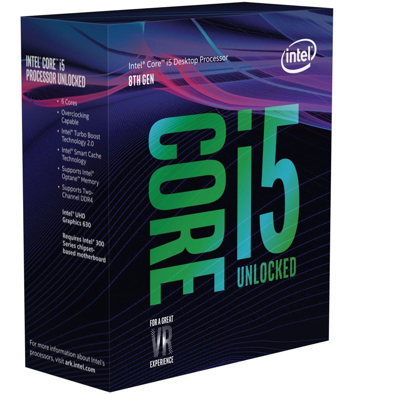 Intel Core i5 8600K boxed 6x 3,60GHz Sockel 1151 v2