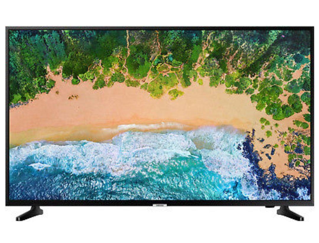 Samsung UE65NU7090 - Smart TV 65 Zoll LED, UltraHD, 4K HDR, DVB-T2/C/S2, WLAN, Triple Tuner