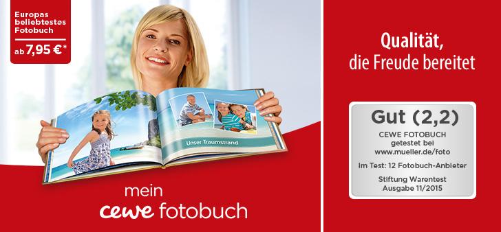 10€ CEWE Fotobuch Gutschein auf fast alles und ohne MBW