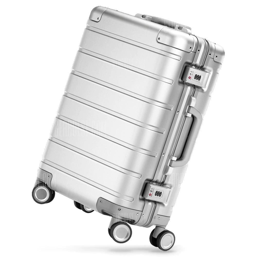 "2x (!) Xiaomi Metal Suitcase: 155,22€/Stück, 3x (!): 145,52€/Stück, 20"" Koffer robust Handgepäck Alu [4%Shoop: 149,01€(2x), 139,70€(3x)]]"