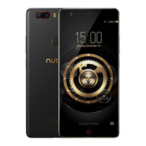 ZTE Nubia Z17 Lite 6/64GB - Mit NFC, Quickcharge 3.0 und Android 7.1 - Schwarz-gold