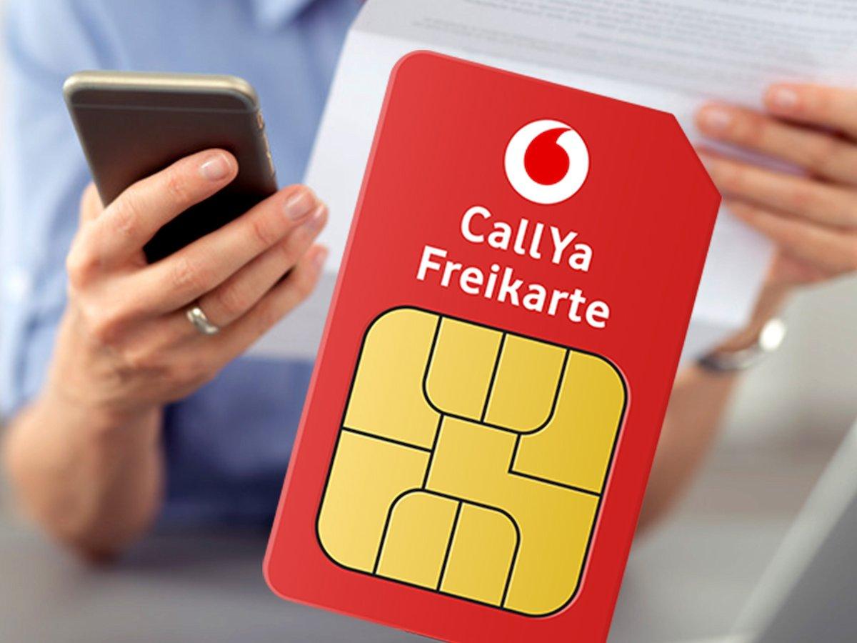 Satte 5 EUR pro kostenloser Bestellung einer CallYa Freikarte Cashback Questler.de