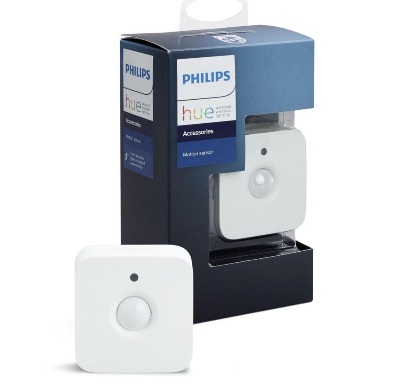 philips hue bewegungssensor motion sensor. Black Bedroom Furniture Sets. Home Design Ideas