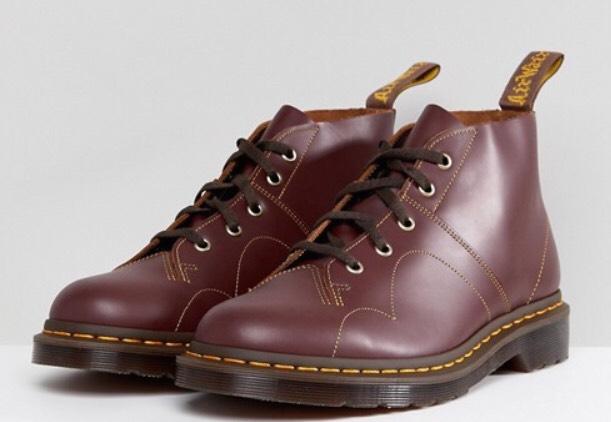 Dr. Martens Church Monkey Boot Oxblood Rot