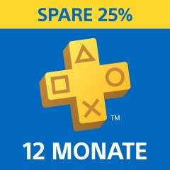 Sony PlayStation Plus Abonnement 12 Monate für 44,99€, wenn kein PS Plus Abo besteht (PSN Store)