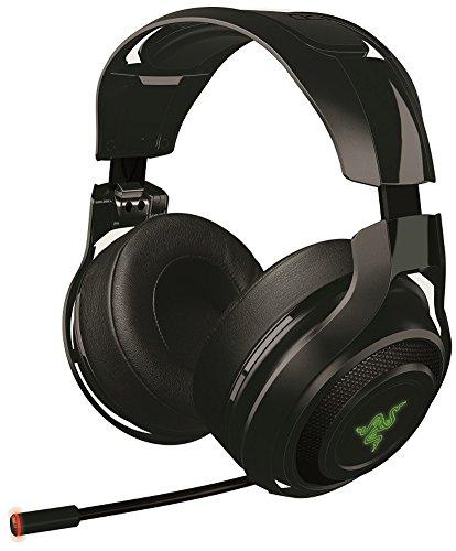 Razer Mano'war Gaming Headset (Over-Ear Kabelloser 7.1 Surround Sound, RGB Beleuchtet für PC, MAC und PS4) [Amazon]