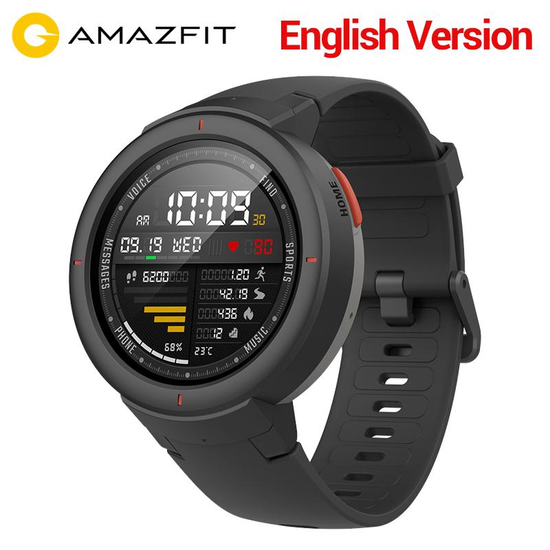 Xiaomi Amazfit Verge int. Version Smartwatch 1,3-zoll AMOLED schwarz/blau aus Spanien