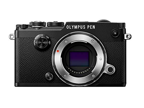 "Olympus PEN-F Systemkamera (20,3 MP, 5-Achsen Bildstabi., elektr. Sucher, 3"" TFT LCD, Full-HD, WLAN) schwarz"